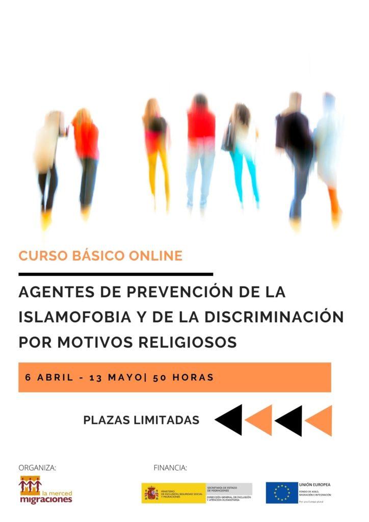 """Curso online """"Agentes de prevención de la islamofobia y la discriminación por motivos religiosos"""""""